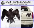 House Of Arryn Game Of Thrones D7 Decal Sticker Carbon Fiber Black 120x97