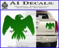 House Of Arryn Game Of Thrones D7 Decal Sticker Green Vinyl 120x97