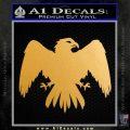 House Of Arryn Game Of Thrones D7 Decal Sticker Metallic Gold Vinyl 120x120