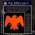 House Of Arryn Game Of Thrones D7 Decal Sticker Orange Vinyl Emblem 120x120