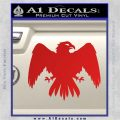 House Of Arryn Game Of Thrones D7 Decal Sticker Red Vinyl 120x120