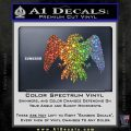 House Of Arryn Game Of Thrones D7 Decal Sticker Sparkle Glitter Vinyl 120x120