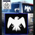 House Of Arryn Game Of Thrones D7 Decal Sticker White Emblem 120x120