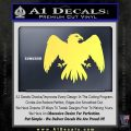 House Of Arryn Game Of Thrones D7 Decal Sticker Yelllow Vinyl 120x120