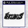 Incubus Rock Band Vinyl Decal Sticker Black Logo Emblem 120x120