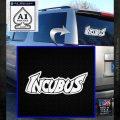 Incubus Rock Band Vinyl Decal Sticker White Emblem 120x120