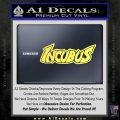 Incubus Rock Band Vinyl Decal Sticker Yelllow Vinyl 120x120