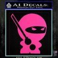 JDM Ninja Decal Sticker Cute Hot Pink Vinyl 120x120