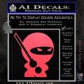 JDM Ninja Decal Sticker Cute Pink Vinyl Emblem 120x120