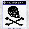 Jollly Roger Henry Every Crossbones Decal Sticker Black Logo Emblem 120x120