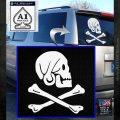 Jollly Roger Henry Every Crossbones Decal Sticker White Emblem 120x120