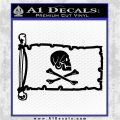 Jollly Roger Henry Every Pirate Flag INT Decal Sticker Black Logo Emblem 120x120