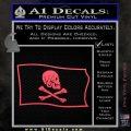 Jollly Roger Henry Every Pirate Flag SL Decal Sticker Pink Vinyl Emblem 120x120