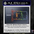 Jolly Roger Black Bart Pirate Flag INT D1 Decal Sticker Sparkle Glitter Vinyl 120x120