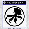 Microtech Knives Logo Decal Sticker Black Logo Emblem 120x120