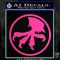 Microtech Knives Logo Decal Sticker Hot Pink Vinyl 120x120