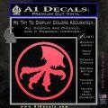Microtech Knives Logo Decal Sticker Pink Vinyl Emblem 120x120