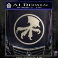 Microtech Knives Logo Decal Sticker Silver Vinyl 120x120