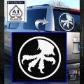 Microtech Knives Logo Decal Sticker White Emblem 120x120