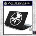 Microtech Knives Logo Decal Sticker White Vinyl Laptop 120x120