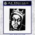 Notorious Big Biggie Poster Decal Sticker Black Vinyl 120x120