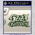 Ozzy Osbourne Decal Sticker Dark Green Vinyl 120x120