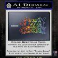 Ozzy Osbourne Decal Sticker Glitter Sparkle 120x120