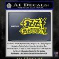 Ozzy Osbourne Decal Sticker Yellow Laptop 120x120