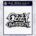 Ozzy OzbourneTXTS Decal Sticker Black Logo Emblem 120x120
