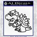 Paper Mario Bowser SXC Decal Sticker Black Logo Emblem 120x120