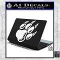 Paw Shadow Decal Sticker White Vinyl Laptop 120x120