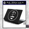 Pink Floyd CR Decal Sticker White Vinyl Laptop 120x120