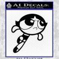 Poweruff Girl Decal Sticker Buttercup Black Logo Emblem 120x120