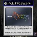 Redneck Crazy Buck Doe Decal Sticker Sparkle Glitter Vinyl 120x120