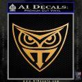 Replicant Blade Runner Decal Sticker Metallic Gold Vinyl 120x120