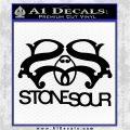 STONE SOUR BAND LOGO VINYL DECAL STICKER Black Logo Emblem 120x120