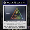 Star Trek Trekkie On Board Vinyl Decal Sparkle Glitter Vinyl 120x120