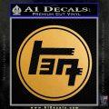 TEQ TOYOTA JAPANESE RACING TRD Decal Sticker Metallic Gold Vinyl 120x120