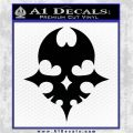 The World Ends With You Decal Sticker Black Logo Emblem 120x120