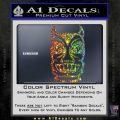 Tiki Decal Sticker D2 Spectrum Vinyl Black 120x120