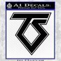 Twisted Sister Rock Band Vinyl Decal Sticker Logo Black Logo Emblem 120x120