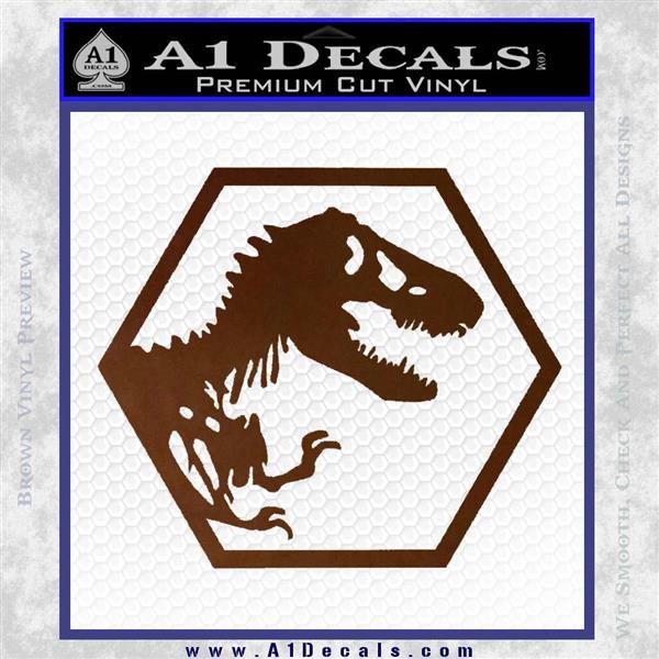 Petite échelle Ingen Jurassic Park Logo Personnalisé Waterslide Decals