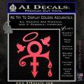 Prince Doves Cry Halo Decal Sticker Pink Vinyl Emblem 120x120