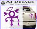 Prince Doves Cry Halo Decal Sticker Purple Vinyl 120x97
