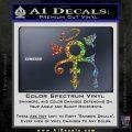 Prince Doves Cry Halo Decal Sticker Sparkle Glitter Vinyl Sparkle Glitter 120x120