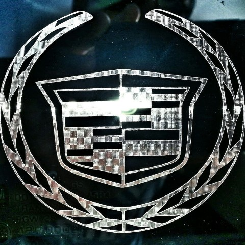Cadillac Badge Logo Cover Decal 187 A1 Decals