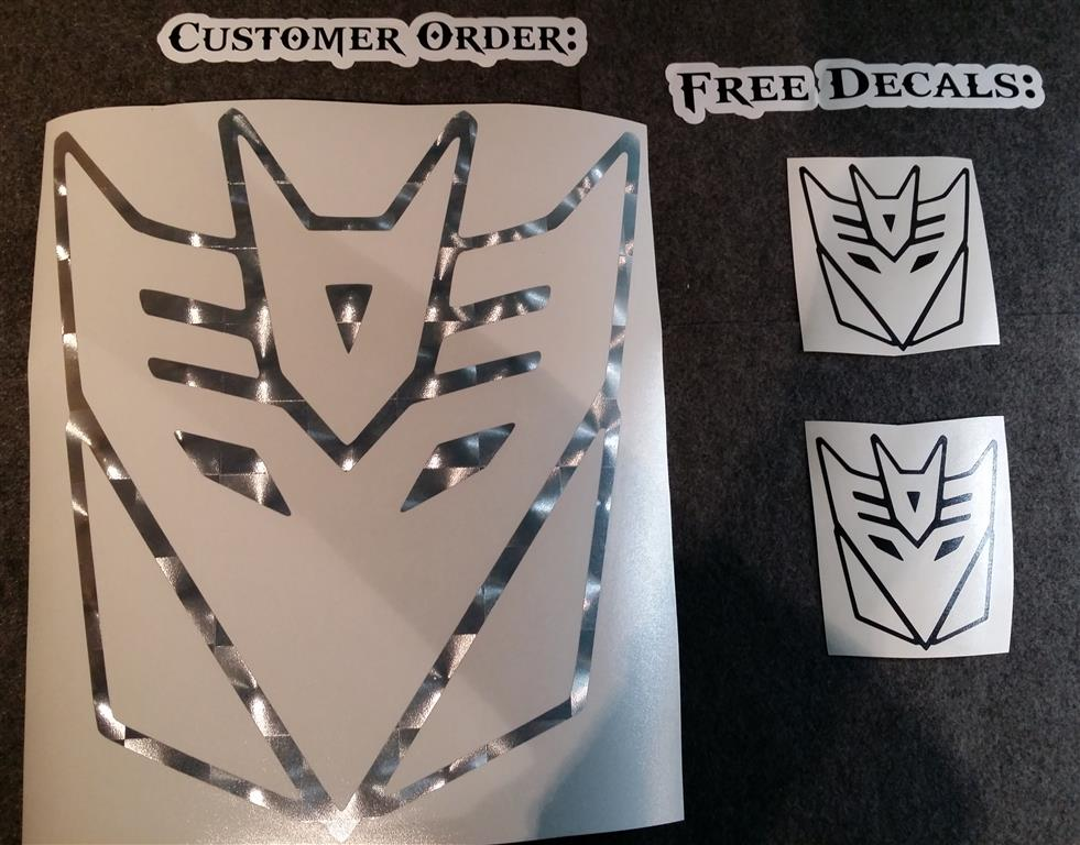 Free Decal Offer » A1 Decals