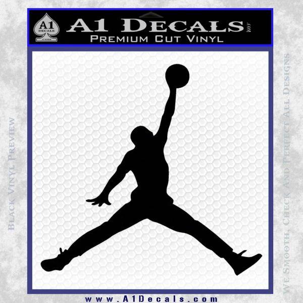 separation shoes 1f18b 35c62 Air Jordan Decal Black Vinyl