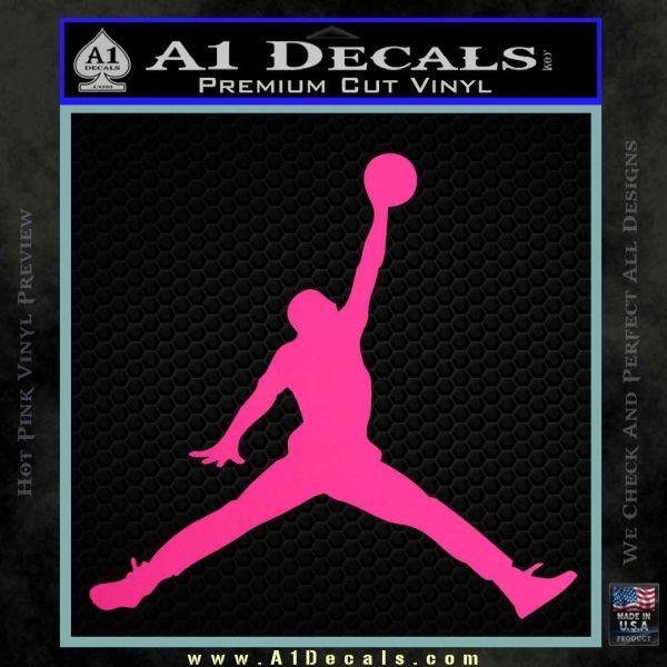 Logo 120x97 air jordan decal pink hot vinyl 120x120