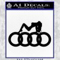 Audi Sexy D1 Decal Sticker Black Vinyl 120x120